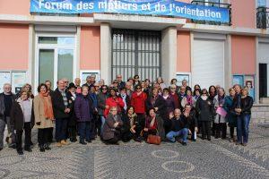 Visita de Estudo das Turmas de Francês