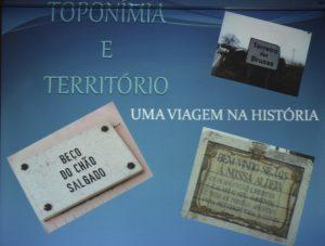 Toponímia e Território –  Viagem na História