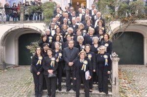 Coro Polifonico da Unisseixal no SOLAR DOS ZAGALLOS