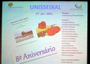 8º  ANIVERSÁRIO DA UNISSEIXAL-17-01-2015