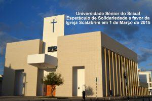 ESPETÁCULO DE SOLIDARIEDADE DA UNISSEIXAL     01-03-2015