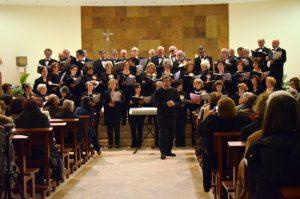 Coro Polifónico na Igreja Beato Scalabrini  7 Dezembro 2014-