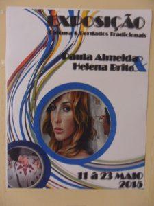 Exposição de Pintura e Bordados Tradicionais  de 11 a 23 Maio 2015