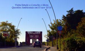 Visita de estudo  da Turma de Questões Ambientais a Coruche e Mora