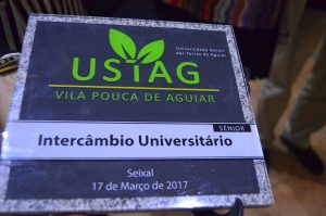 Receção à Universidade Sénior das Terras de Aguiar